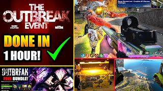 Overview of the outbreak event and free bundle in call duty black ops cold war & warzone; guide for completing challenges zombies rewards!this video c...