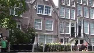 видео ???? Амстердам глазами туриста. Обзор центра города. Фрагмент док. фильма
