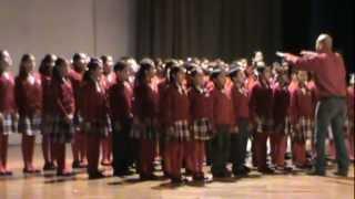 Concurso de interpretacion del Himno Nacional 2013 ciudad juarez