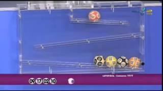 Resultado da Lotofácil concurso 1177 dia 02/03/2015 (Momento da Sorte - RedeTV)