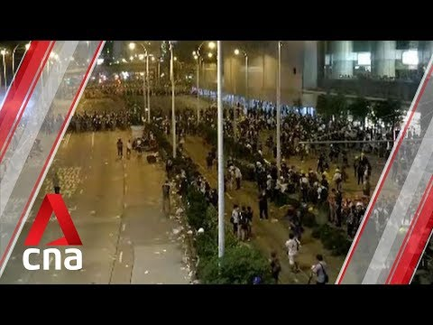 Hong Kong protests: At least 22 injured after demonstrations turn violent