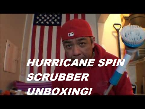 hurricane spin scrubber unboxing and review youtube. Black Bedroom Furniture Sets. Home Design Ideas
