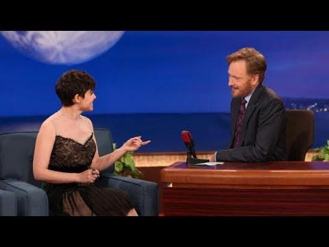 Ginnifer Goodwin Interview Part 01 - Conan on TBS