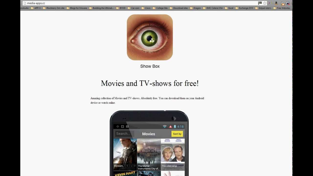 Showbox movies and tv shows on IOS/Android. - YouTube