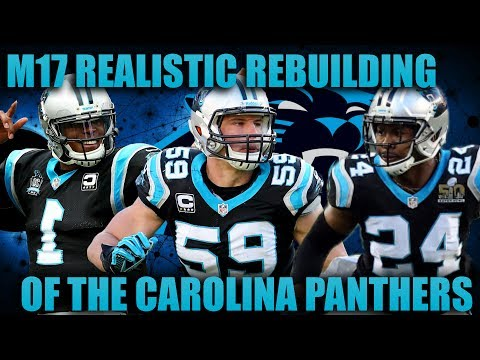 Madden 17 Franchise | Realistic Rebuilding of The Carolina Panthers! THE BEST QUARTERBACK EVER!