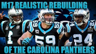 Madden 17 Franchise | Realistic Rebuilding of The Carolina Panthers! THE BEST QUARTERBACK EVER! 2017 Video