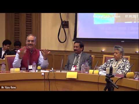 Dr Padmesh Gupta in conversation with Mr Vijay Rana