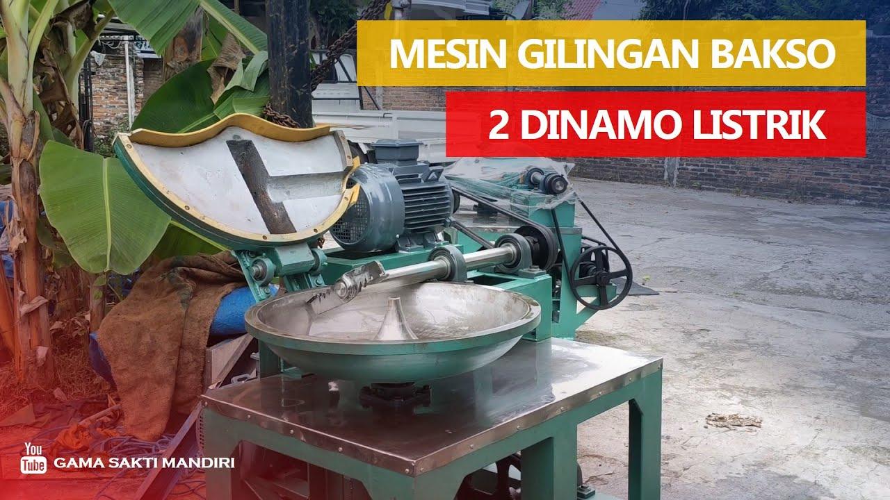 Gilingan Bakso Dinamo Listrik | Mesin Bakso Listrik | Giling Bakso 2 Dinamo