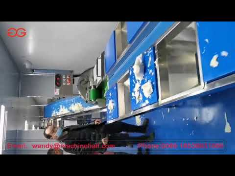 Industrial Vegetable Processing Machine With Cutting Washing Packing