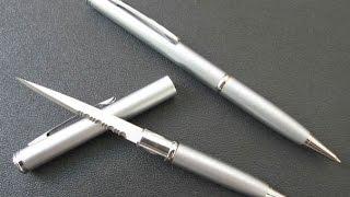 как сделать нож ручку