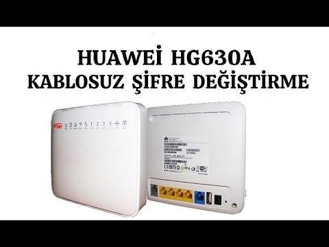 Huawei Vodafone mobile wifi R216 modem resetleme kurulum
