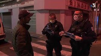 Coronavirus Béziers : contrôles de police et couvre-feu nocturne entre 22h et 5h