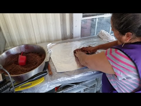 Preparando Tablillas De Chocolate | Chocolote Oaxaqueño
