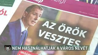 Nem használhatja Szombathely nevét az ingyenes hetilap 2019-06-19