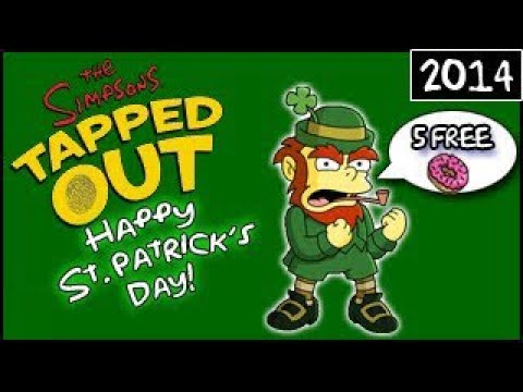 The Simpsons: Tapped Out - Happy St. Patrick's Day! - 5 ...