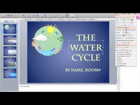 Water Cycle (PowerPoint) - YouTube