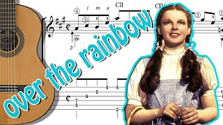 OVER THE RAINBOW - FINGERSTYLE CLASSICAL GUITAR