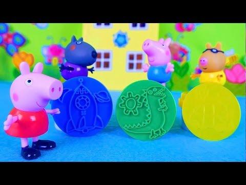 Свинка Пеппа и Джордж Подмена (2 часть) Мультик из игрушек – Серия 61