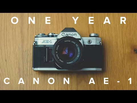 One Year With The Canon AE-1