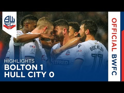 HIGHLIGHTS | Bolton 1-0 Hull City