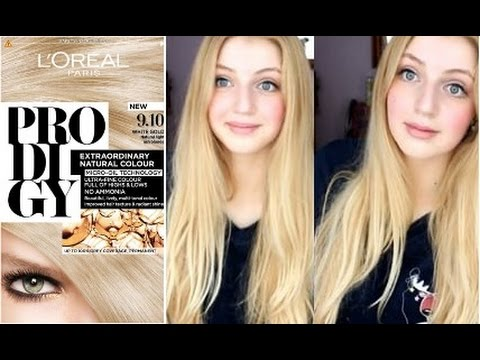 loreal prodigy ivory blonde glamour non cheap youtube - Prodigy Coloration