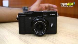 Fujifilm FinePix X20 - Video Review