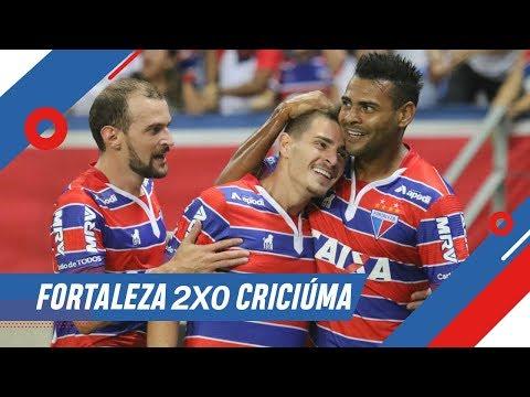 Gols   Fortaleza 2x0 Criciúma   Série B 2018   TV Leão