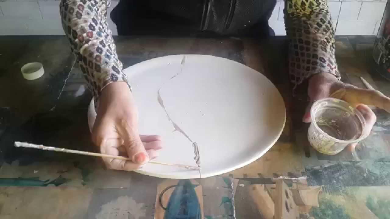 Como reparar moldes de bizcocho ceramico rotos youtube for Bizcochos de ceramica