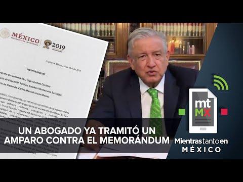 Con memorándum, AMLO quiere cancelar la Reforma Educativa