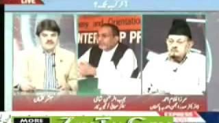 "Ahmadiyya Sahibzada Mirza Ghulam Ahmad Sahib in Express News ""Point Blank"" 2 June 2010 part-3"