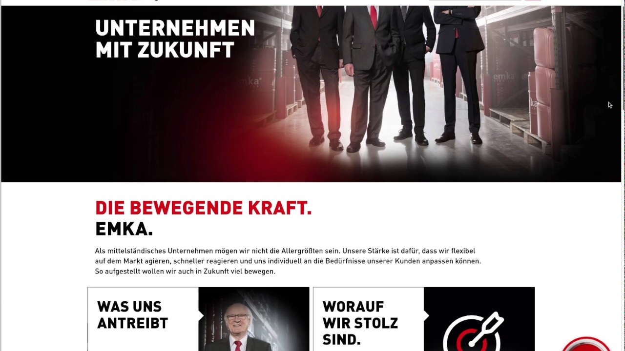 Webinar zur Corporate Website + Onlineshop