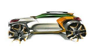 Car sketch & design(Side View)