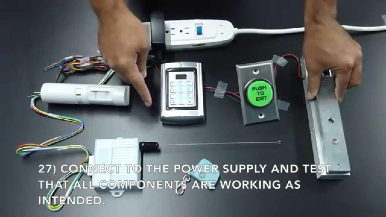 Magic Lock Kit Wiring Instructions  YouTube