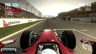 F1 2010 Videogame Gameplay #2 (PC HD)