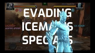 Why take more damage from iceman than coldsnap? This guy's specials...