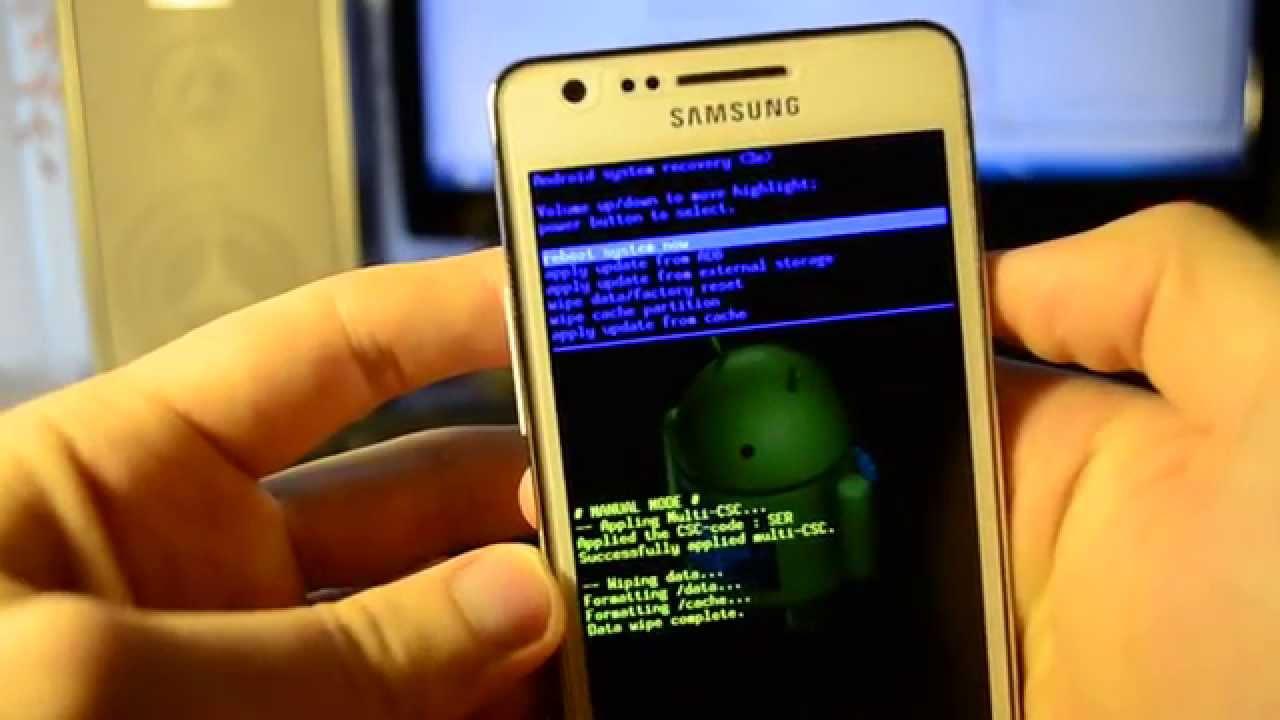 Скачать программу для сброса настроек телефона