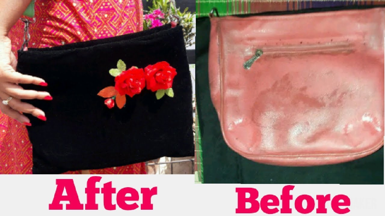 Diy Purse How To Make Old Look New