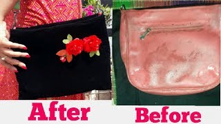DIY Purse - how to make old  purse look new