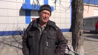 видео В Станице Луганской началась война за банкоматы