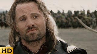 Как Арагорн ведет переговоры с Мордором. Властелин колец: Возвращение короля.