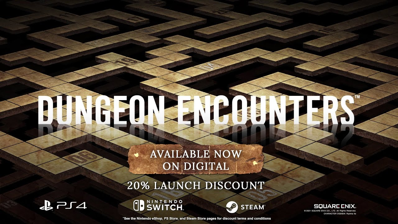 DUNGEON ENCOUNTERS | Launch Trailer