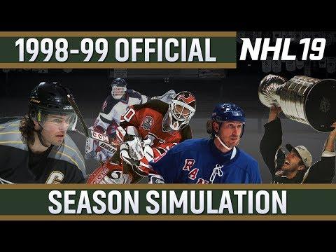 NHL 19 - 1998-99 Official Season Simulation
