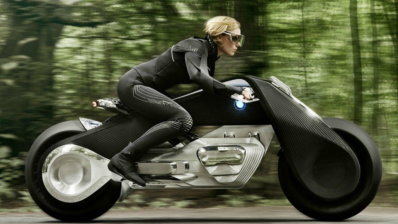 Resultat d'imatges de bmw vision next 100 motorcycle