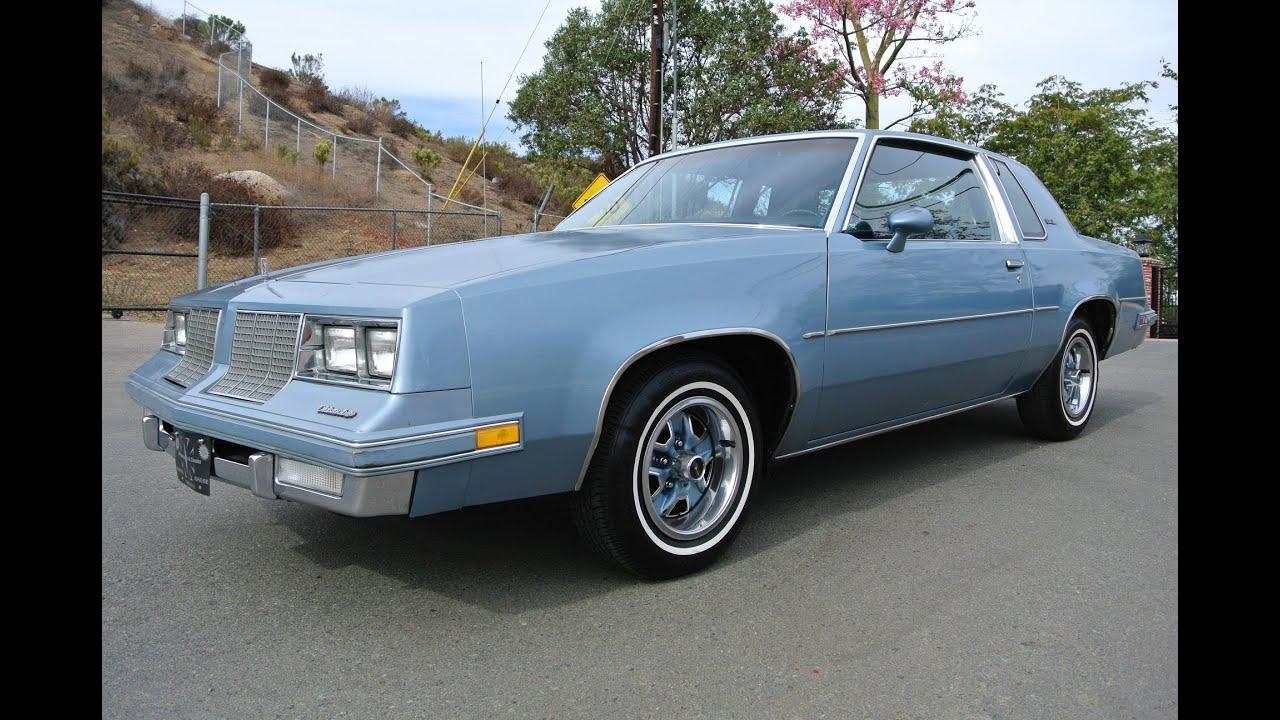 1985 Oldsmobile Cutlass Supreme Coupe Dead Stock Original Classic