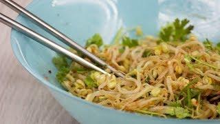 Как готовить салат нокты– ча (салат из проросшего маша)