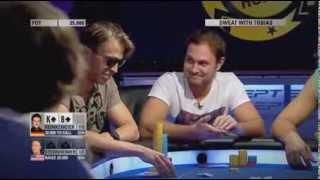 Покер. ЕПТ 10 Барселона. Турнир суперхайроллеров. Часть 3 (2013)