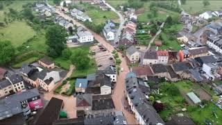 Inondation au Luxembourg le 1/6/2018