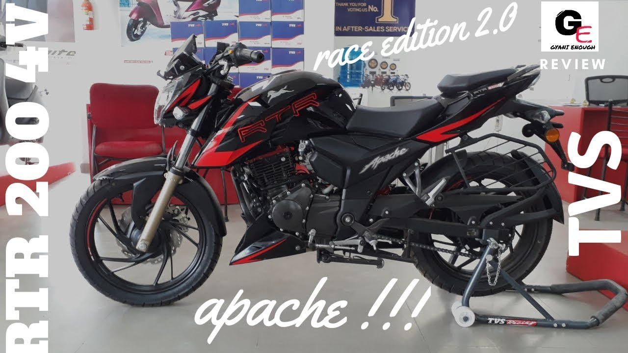 Tvs Apache Rtr 200 4v Race Edition 2 0 Most Detailed Review