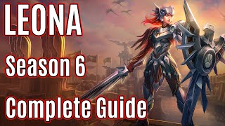 League of Legends Support Leona Guide   Season 6   Patch 5.24