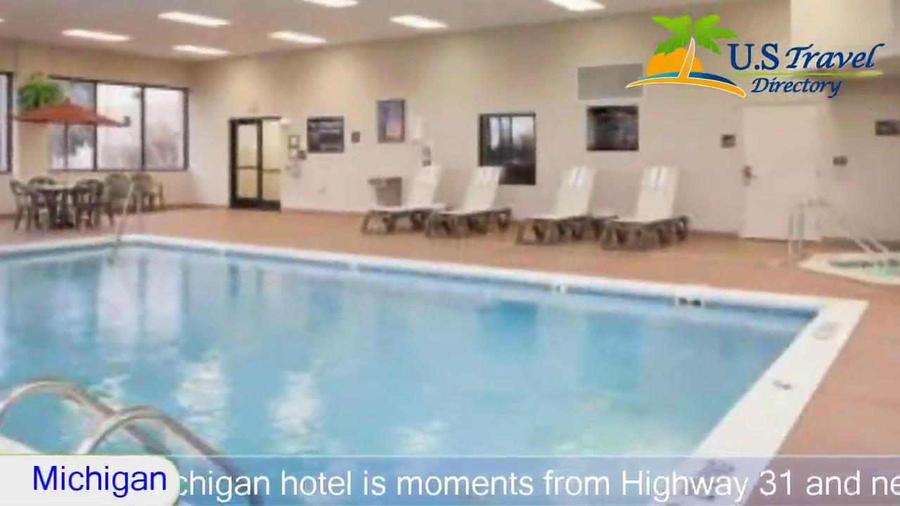 Hampton Inn Muskegon 3 Stars Hotel In Heights Michigan